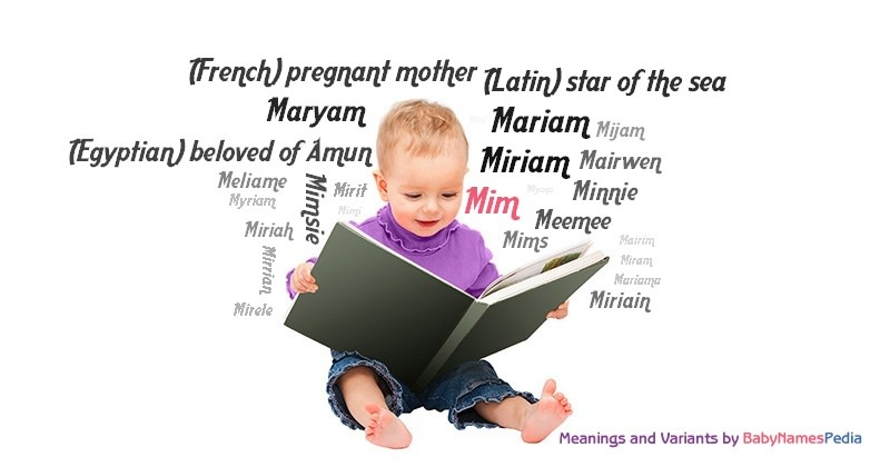 Meaning of the name Mim