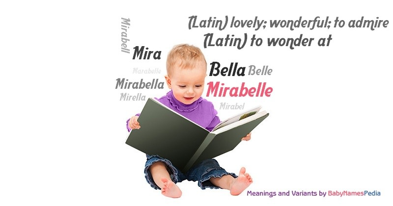 Meaning of the name Mirabelle