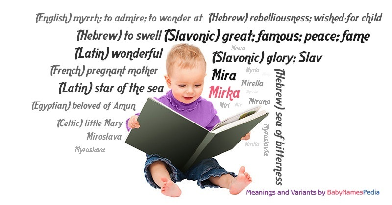 Meaning of the name Mirka