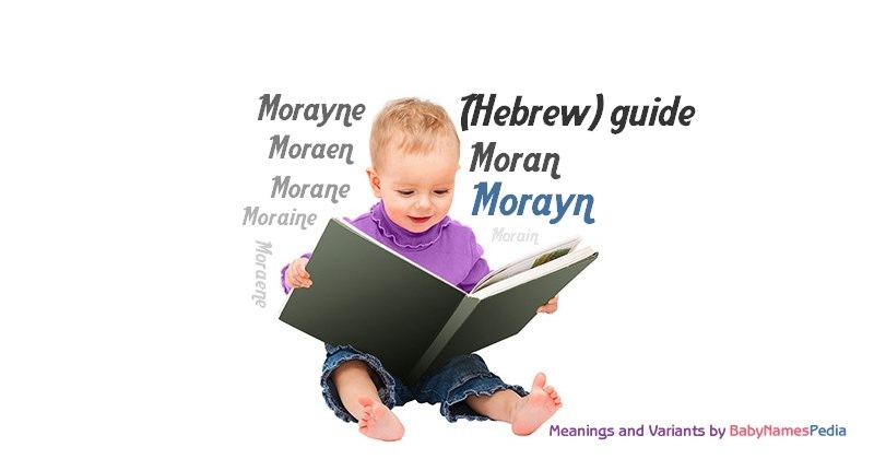 Meaning of the name Morayn