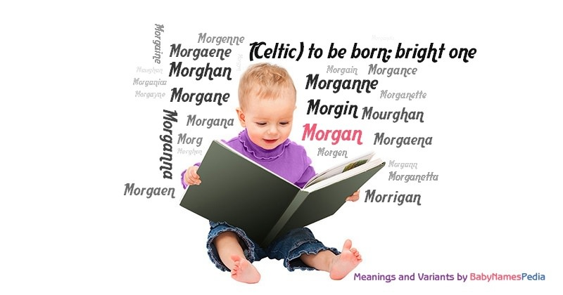 Meaning of the name Morgan