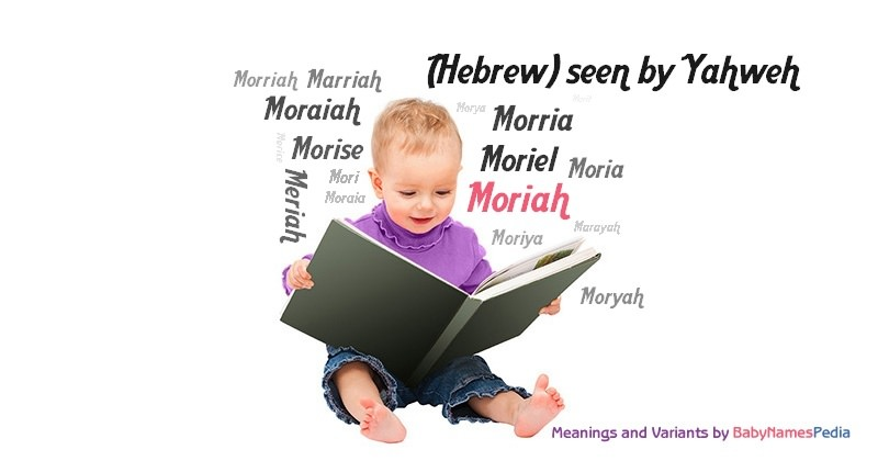 Meaning of the name Moriah