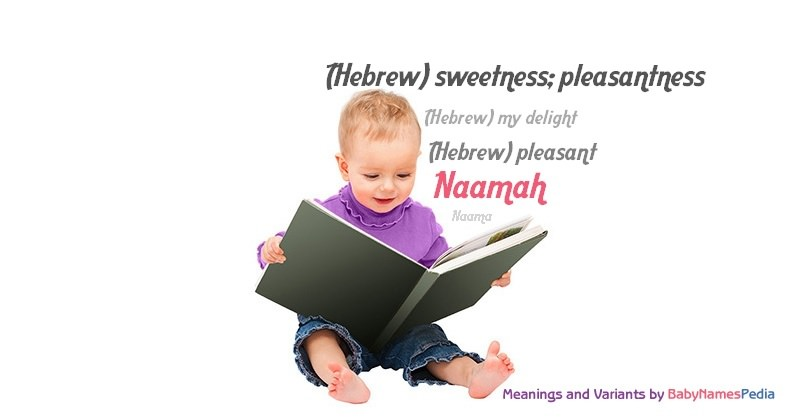 Meaning of the name Naamah