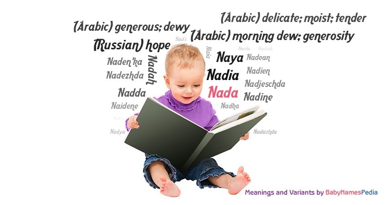 Meaning of the name Nada