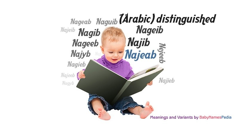 Meaning of the name Najeab