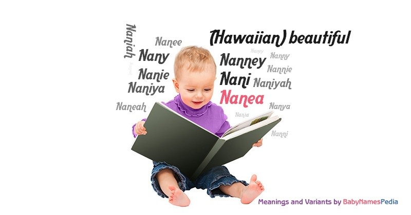 Meaning of the name Nanea