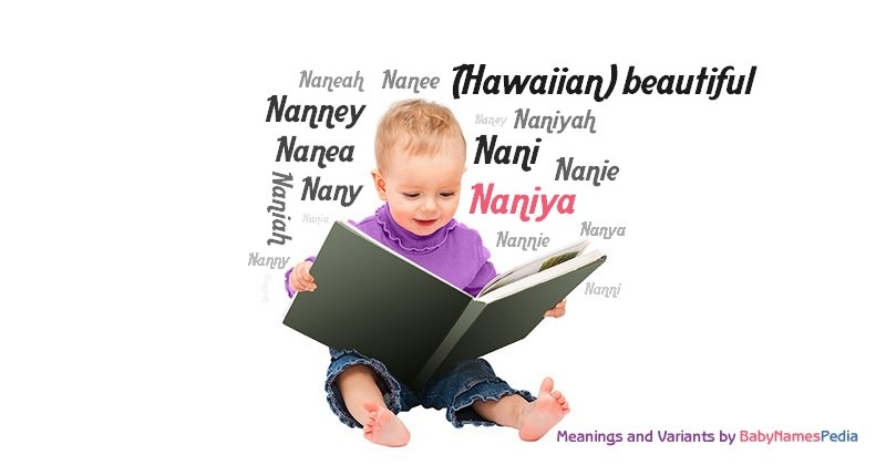 Meaning of the name Naniya