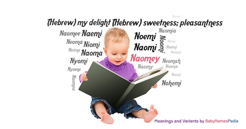 Meaning of the name Naomey