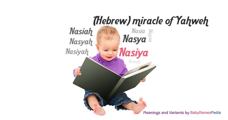 Meaning of the name Nasiya
