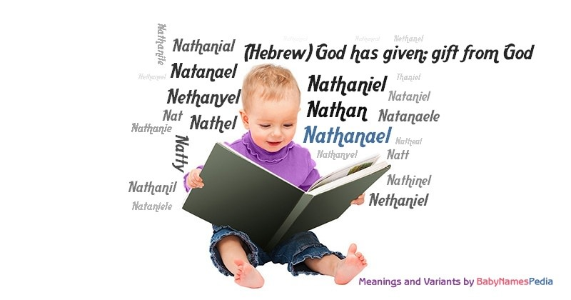 Meaning of the name Nathanael