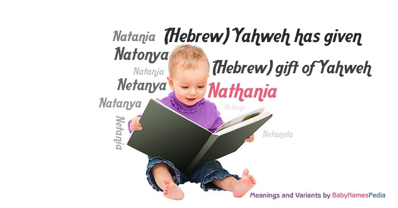 Meaning of the name Nathania