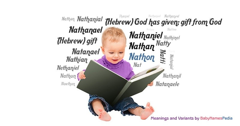 Meaning of the name Nathon