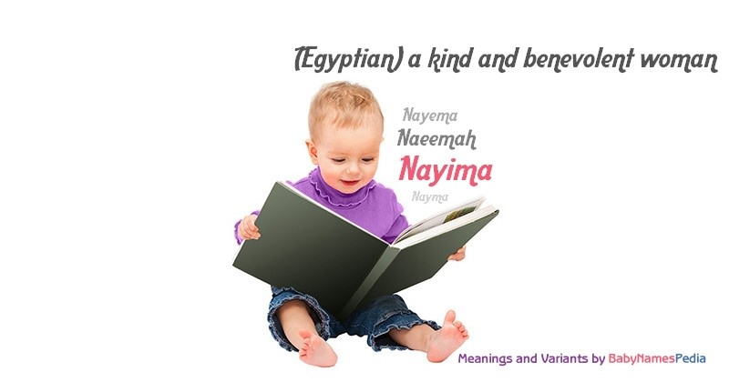 Meaning of the name Nayima
