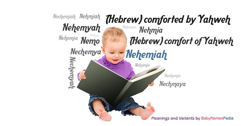 Meaning of the name Nehemiah