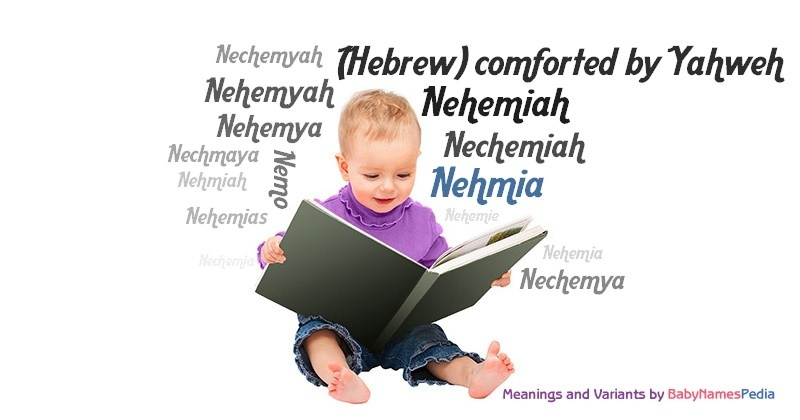 Meaning of the name Nehmia