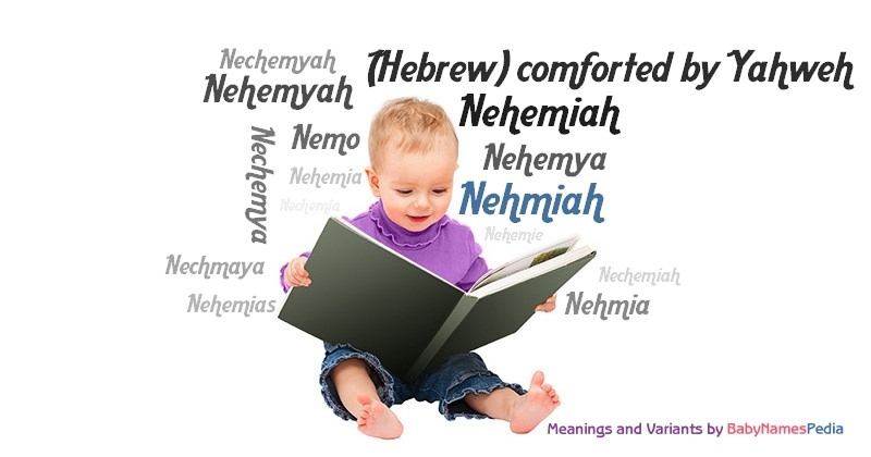 Meaning of the name Nehmiah