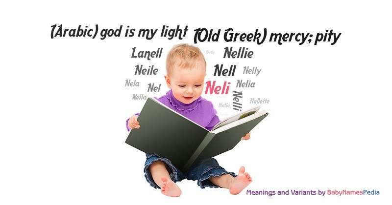 Meaning of the name Neli