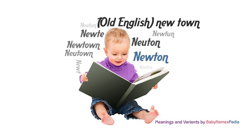 Meaning of the name Newton