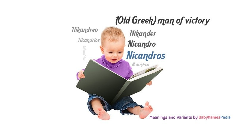 Meaning of the name Nicandros
