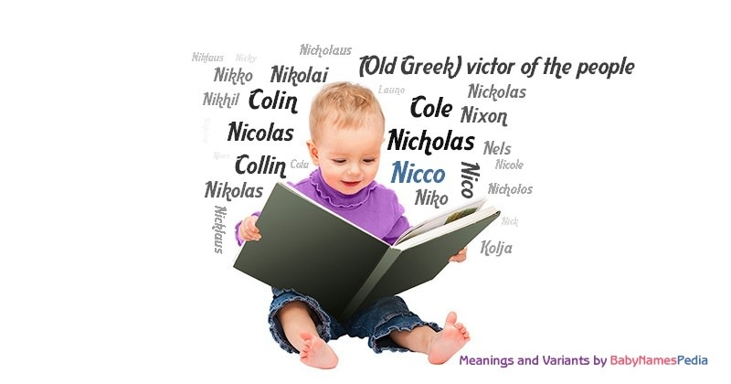 Meaning of the name Nicco