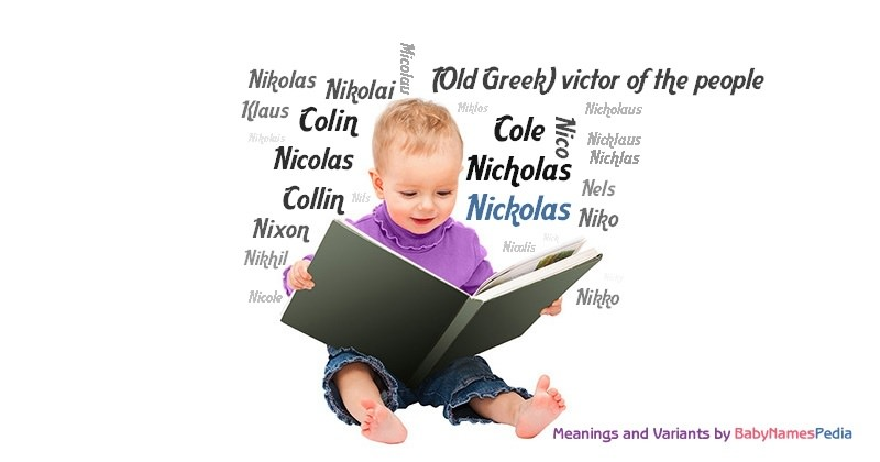 Meaning of the name Nickolas