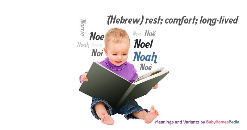 Meaning of the name Noah