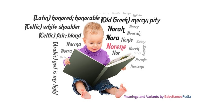 Norene - Meaning of Norene, What does Norene mean?