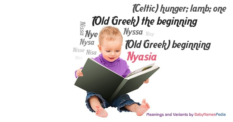 Meaning of the name Nyasia