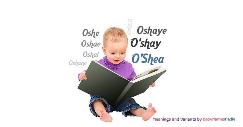 Meaning of the name O'Shea