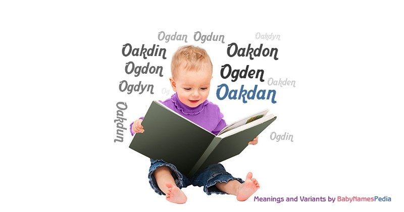 Meaning of the name Oakdan