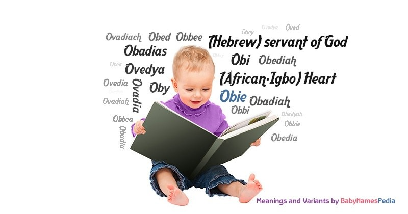Obie - Meaning of Obie, What does Obie mean?