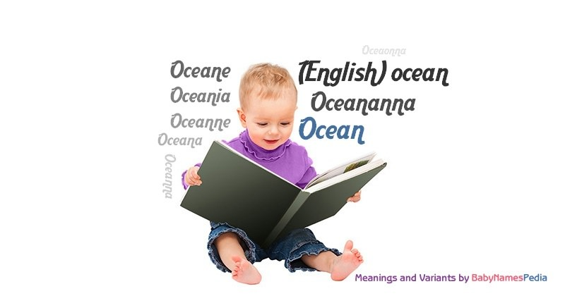 Meaning of the name Ocean