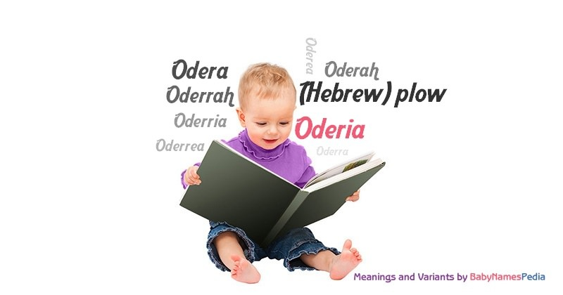 Meaning of the name Oderia