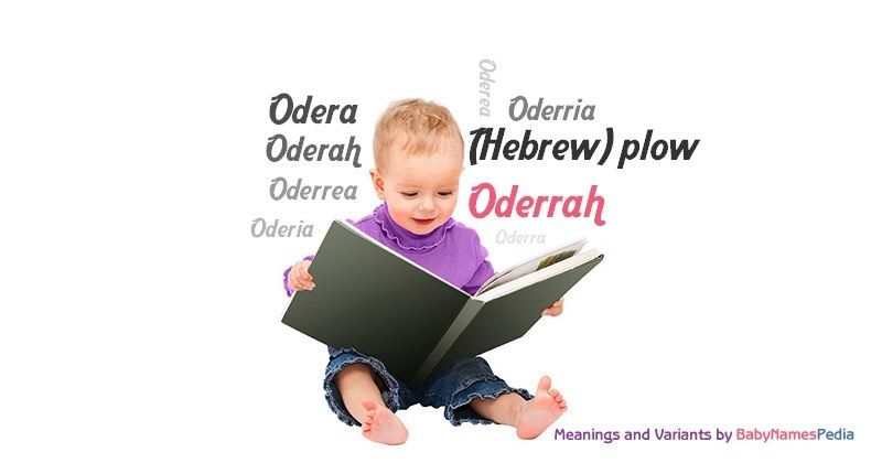 Meaning of the name Oderrah