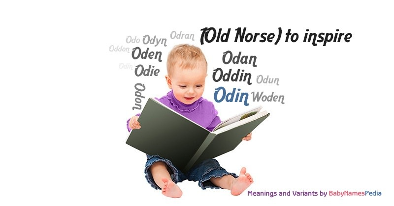 Meaning of the name Odin