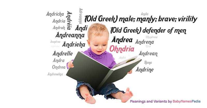 Meaning of the name Ohndria