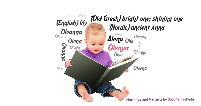 Meaning of the name Olenya