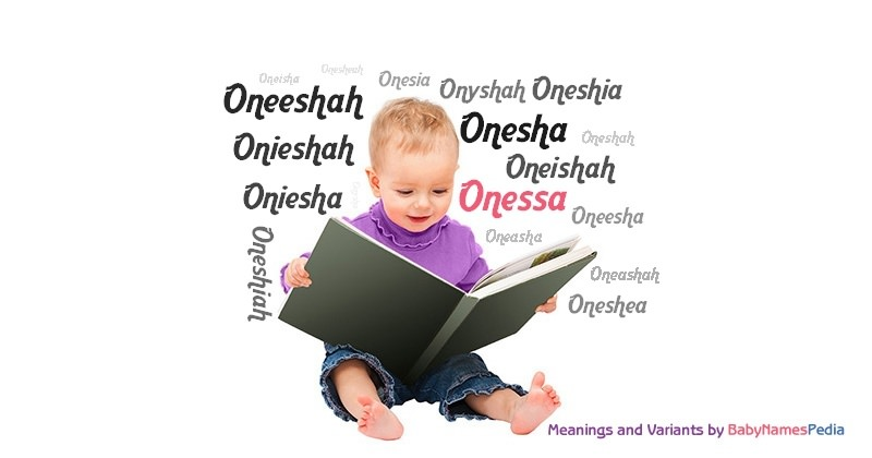Meaning of the name Onessa