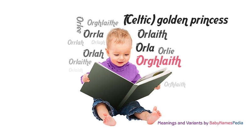 Meaning of the name Orghlaith
