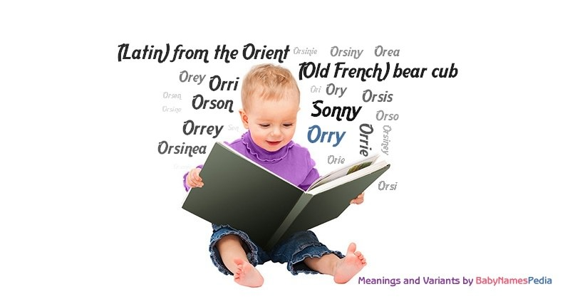 Meaning of the name Orry