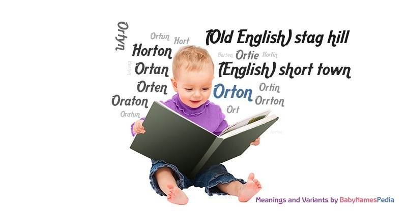 Meaning of the name Orton