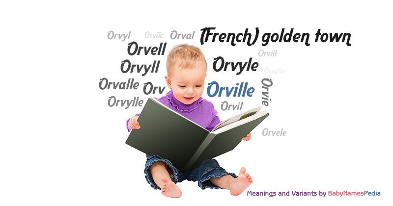 Meaning of the name Orville