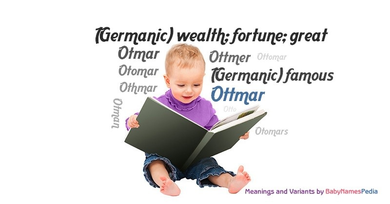 Meaning of the name Ottmar