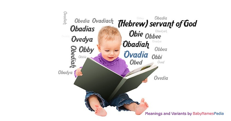 Meaning of the name Ovadia