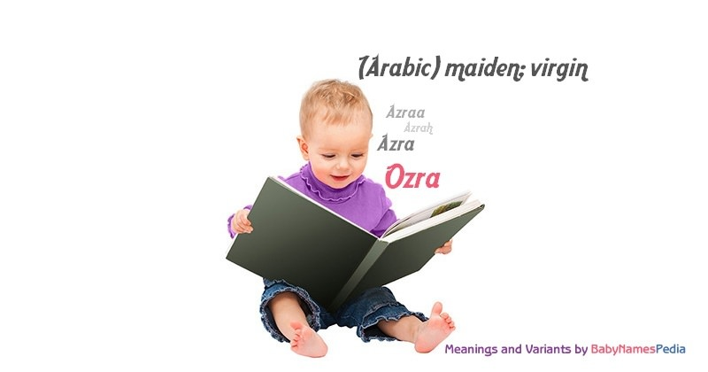 Meaning of the name Ozra