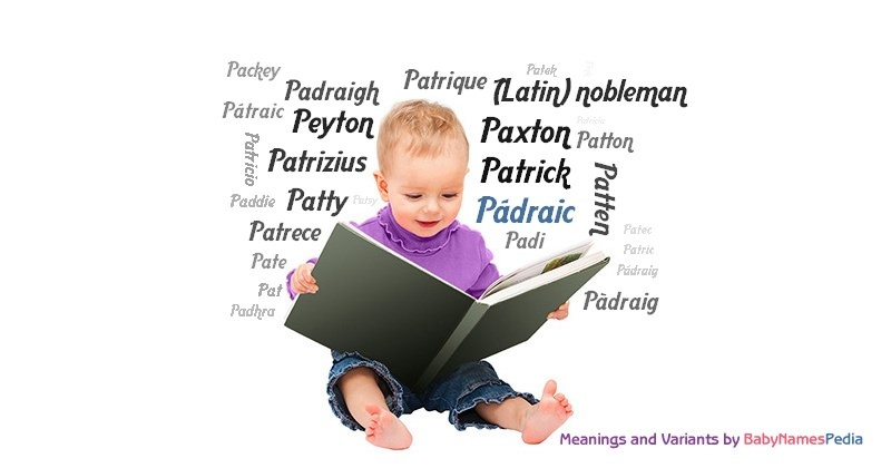 Meaning of the name Pádraic