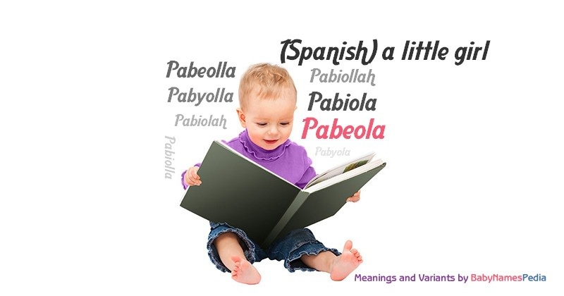 Meaning of the name Pabeola
