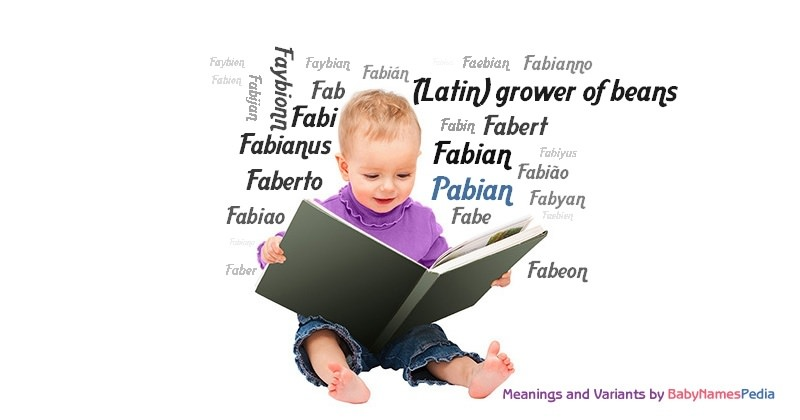 Meaning of the name Pabian