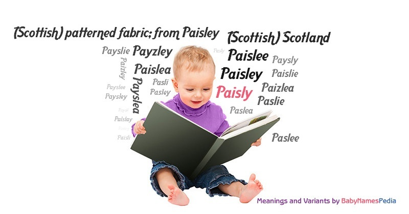 Meaning of the name Paisly
