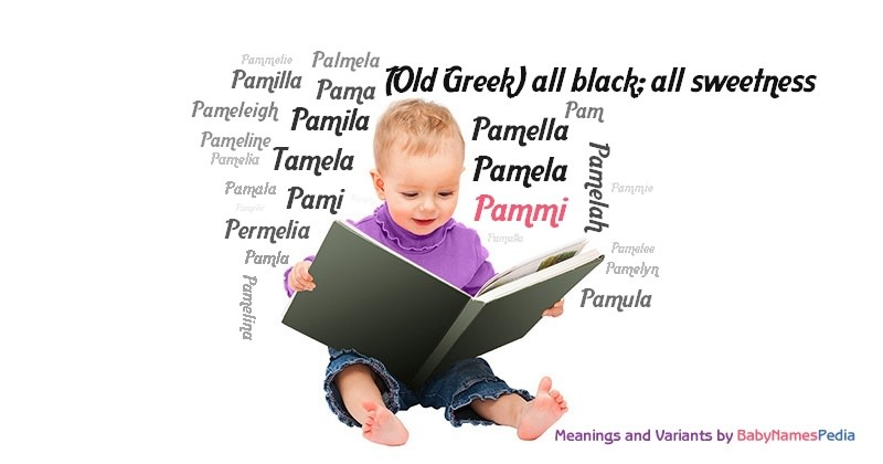 Meaning of the name Pammi